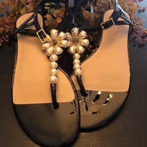 Kate Spade Sz9 Black Sandal